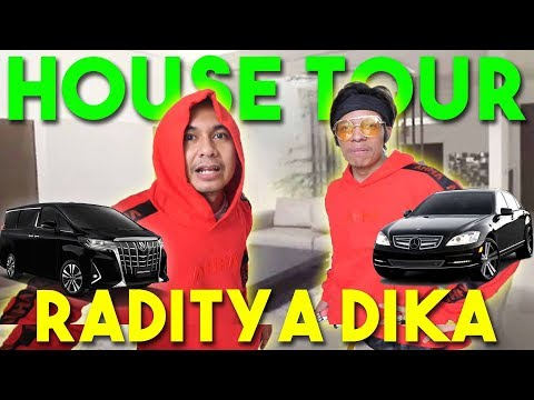 HOUSE TOUR RADITYA DIKA #AttaGrebekRumah   EPS 2   PART 1