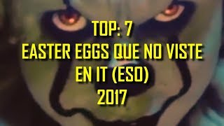 Top: 7 Easter Eggs Que No Viste En IT (ESO)