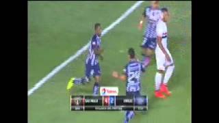 Copa Sudamericana: Sao Paulo 4-2 Emelec