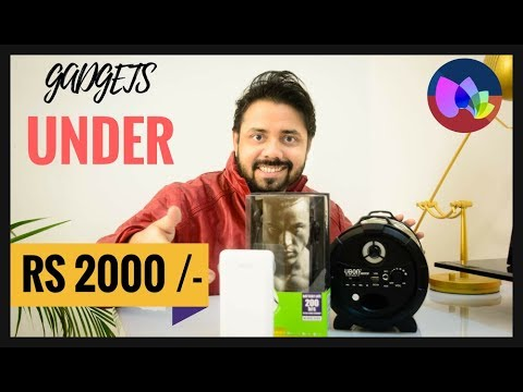 Top Tech Gadgets Accessories Under Rs 2000/- Budget Tech For Rs 2000 Tech Box Hindi