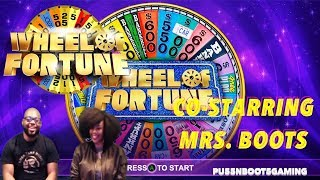 WHEEL OF FORTUNE GAMEPLAY W/MRS. BOOTS   CAN YOU LOAN ME A VOWEL!!