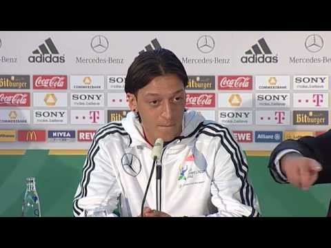 DFB Press Conference, Mesut �zil - 02/28/12