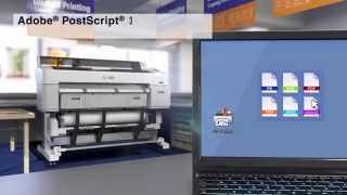 SureColor T Series Large Format Printers and Multifunction Systems