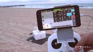 DJI Phantom 3 First Flight and DJI Pilot App Overview HD