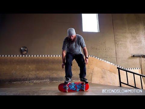 Darren Dyk - 270lbs Freestyle Skateboarder