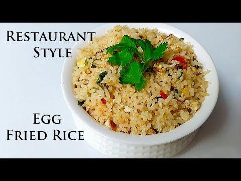 Egg Fried Rice | Restaurant style | 5 Minutes recipe
