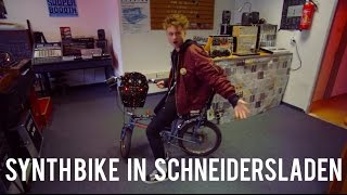 Schneidersladen Meet Synth Bike jamming with #Eurorack