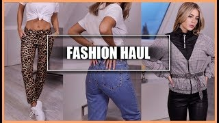 TRY ON Shopping Haul 💃🏼 👟👖 | MRS. BELLA