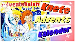 CRAZE SUPER KNETE Adventskalender für Kinder Weihnachtskalender 2018 Advent Calendar