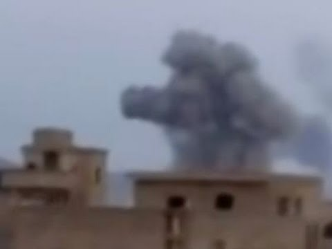 Raw: Egyptian Airstrikes Against IS in Libya