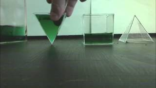 Volume of Three Square Pyramids Fitting into a Cube