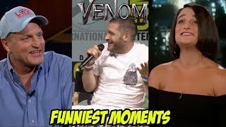 VENOM Bloopers and Funny Moments(Part-1) | Tom Hardy and Riz Ahmed Funny