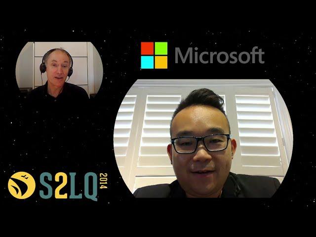 Pourquoi Microsoft commandite-t-elle le #S2LQ?