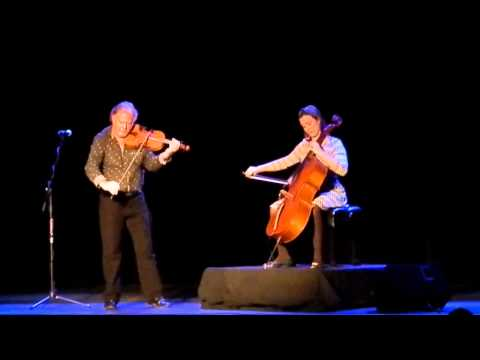 Alasdair Fraser and Natalie Haas in Concert 11-15-13 Allegan, Mi Griswold #3