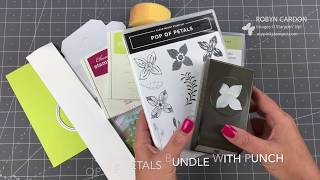 Stampin' Up!  Pop of Petals Notecard Pizza Box - EPISODE SIX HUNDRED FIFTY FIVE!