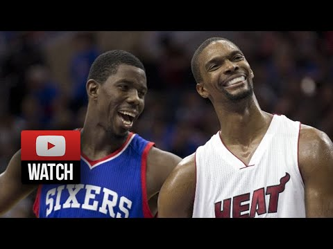 Chris Bosh Full Highlights at 76ers (2014.11.01) - 30 Pts, 8 Reb, Beast!