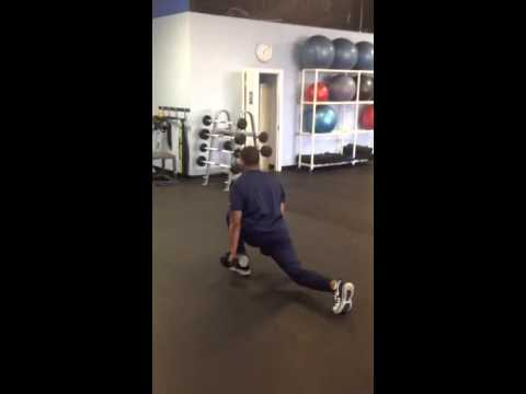Chris Givens Walking Deadlift