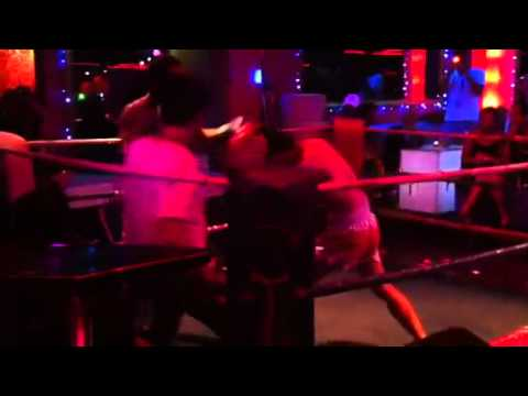 Patpong pink panther gogo bar boxing
