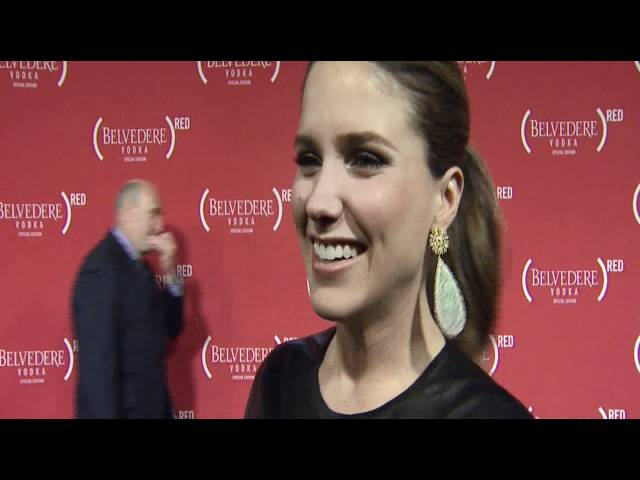 Sophia Bush Red Carpet Interview @ (RED)™ Event