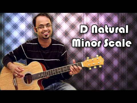 How To Play - D Natural Minor Scale - Guitar Lesson For Beginners