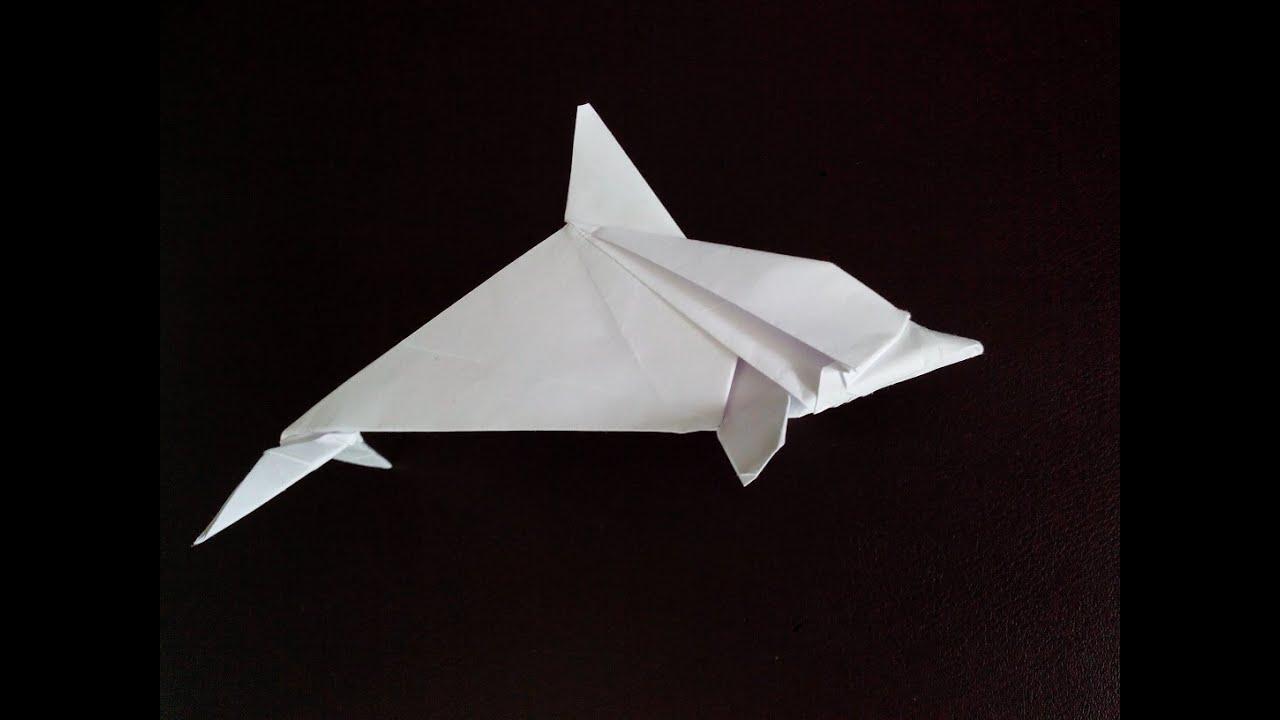 Faire dauphin origami  abcApprendre