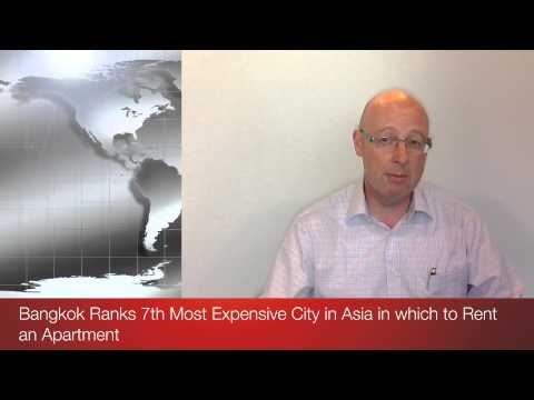 Bangkok Ranks 7th Most Expensive City in Asia in which to Rent an Apartment