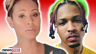 Jada Pinkett Smith RESPONDS To Affair Rumors With August Alsina!