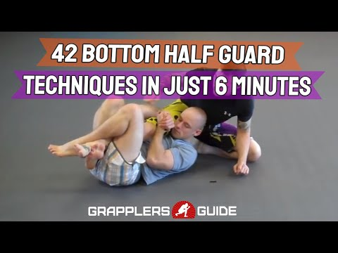 42 BJJ Half Guard Bottom Techniques in Just 6 Minutes - Jason Scully Image 1