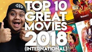 #ZHAFVLOG - DAY 360/365 - TOP 10 GREAT MOVIES 2018 (International)   Malaysia Movie Review