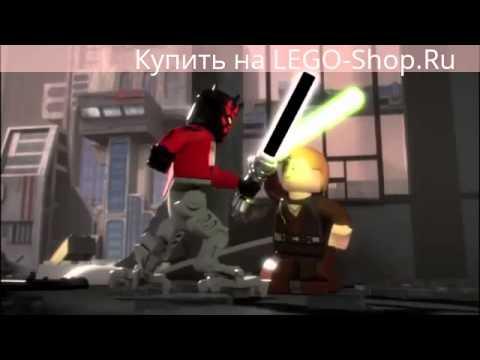 ЛЕГО Звездные войны: минифильм Республиканский истребитель часть 2