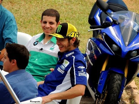 Valentino Rossi no Brasil + Cafú + Alex Barros + Leandro Mello (HD)