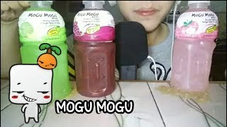 ASMR Drinking and Chewing Mogu Mogu