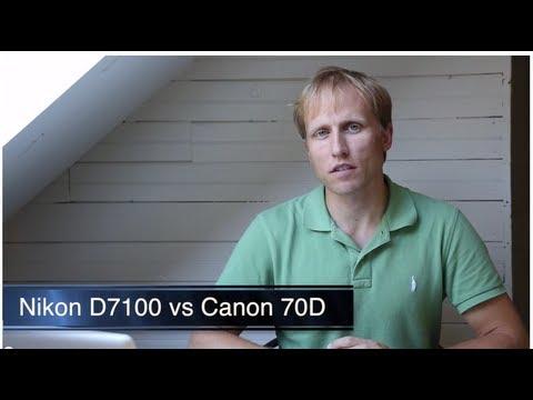 Canon 70D vs Nikon D7100 - Complete Comparison/Review