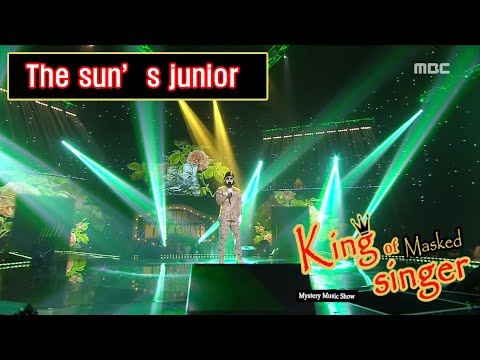 [King of masked singer] 복면가왕 - 'The sun's junior' 2round - I Can't 20160522