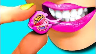 WOW! Mini Miniature Hubba Bubba Bubble Gum Tap!!! So Funny!