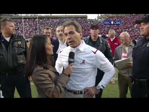 Alabama 12 Tennessee 10 - Terrence Cody Game-Winning Field Goal Block [HD] Video