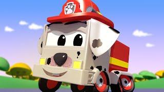 Ngày lễ chó cưng - Franck nhí là chó đốm - cửa hàng sơn của Tom 🎨 những bộ phim hoạt hình về xe tải