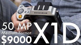 Hasselblad X1D: 50 Megapixels, Medium Format, $9K