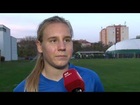 LABDARÚGÁS. Pápai Emőke az MTK Hungária FC istenáldotta tehetsége