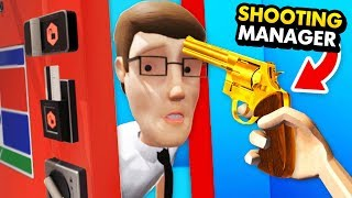 SHOOTING The MANAGER After HOTEL DESTRUCTION (Funny Hotel R'n'R Virtual Reality Gameplay)