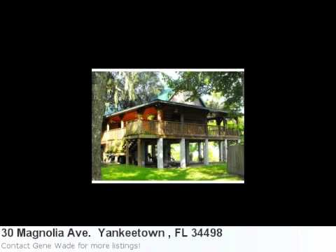 Yankeetown , Fl Real Estate For Sale - 30 Magnolia Ave. . Ml
