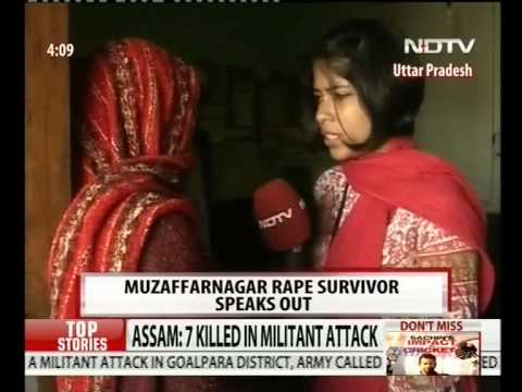 Riot Victim Gang-raped In Muzaffarnagar, Two Arrested video