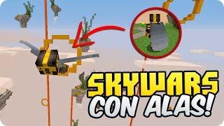 ¡SKYWARS CON ALAS! EL VERDADERO SKYWARS DE MINECRAFT   MINECRAFT SKYWARS