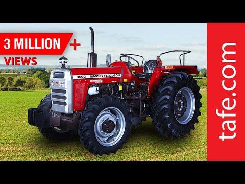 Massey Ferguson 9500 - Tractor Walk-through (Hindi)