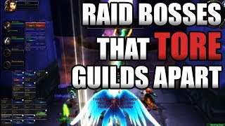 Infamous Raid Bosses That TORE Guilds Apart! Classic WoW GUILDBREAKERS!
