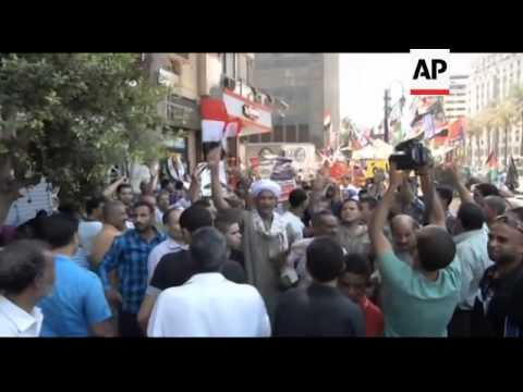 Egypt - Former spy chief and vice president Omar Suleiman dies / Aftermath of clashes between Egypti