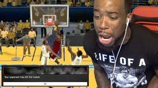 MADE TRASH TALKER RAGE QUIT! PINK DIAMOND PATRICK EWING! UNSTOPPABLE! NBA 2K17 Gameplay