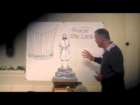 Children's Bible Talk - David's Testimony