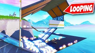 ULTIEME RACE MET LOOPING!! | Fortnite Creative (Nederlands)
