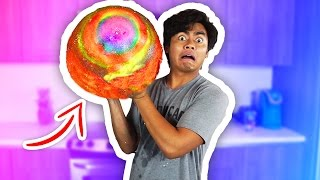 DIY GIANT BOUNCY BALL!